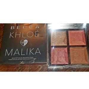 Becca: khloe & malika blush highlight pallette